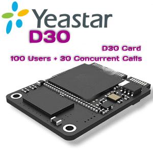 Yeastar D30 Capacity Card Kenya Nairobi