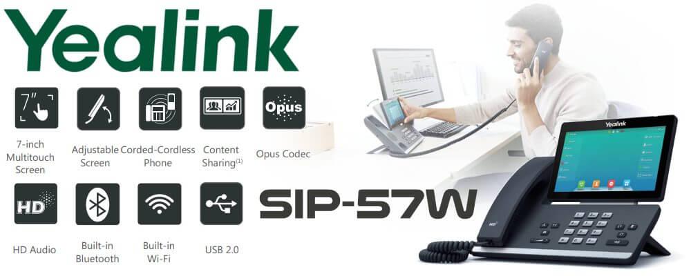 Yealink SIP-T57W wireless phone Nairobi